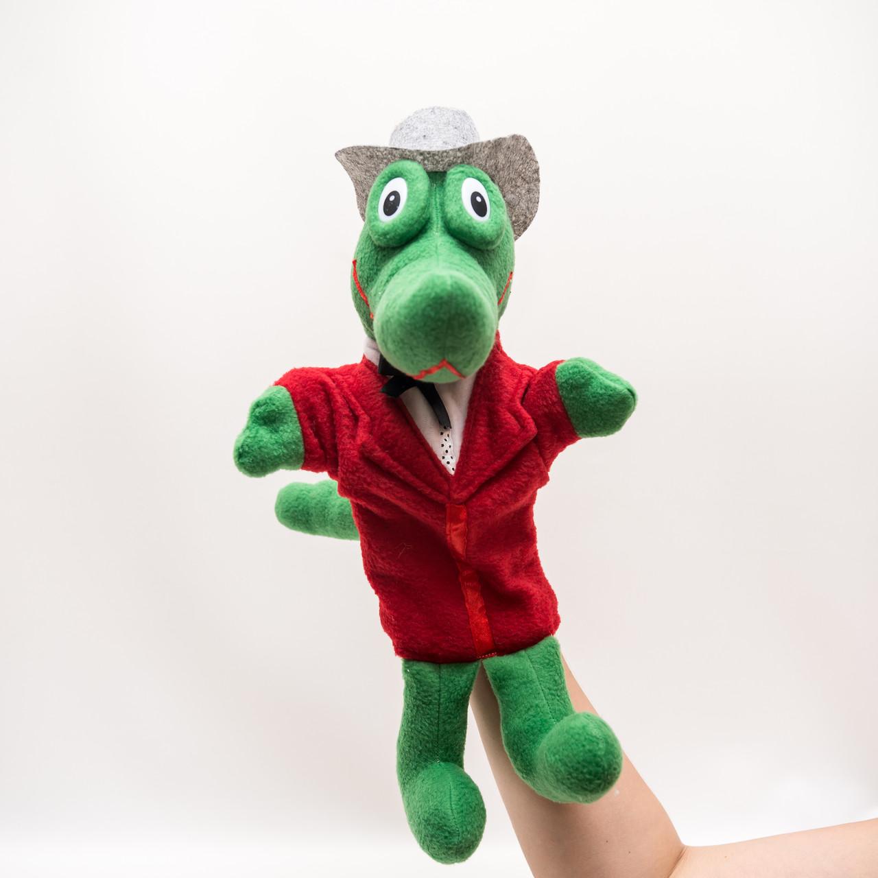 Кукла-перчатка Крокодил Гена большая