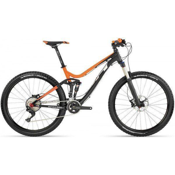 Велосипед горный BH - Lynx 4.8 Alu 20V SLX RS Recon Black/Red, р.M (BH DA377.R39-M)
