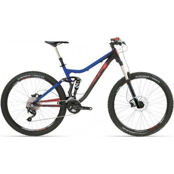 Велосипед горный BH - Lynx 6 Alu 27,5 20V SLX Aion 2017 Black/Blue/Orange, р.M (BH DM377.33N-M)