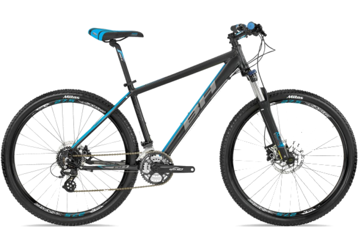 "Велосипед горный BH - Spike 27,5"" XCT SH ALTUS 24V 2017 Black/Blue, р.L (BH A1977.Z29-L)(Размер M)"