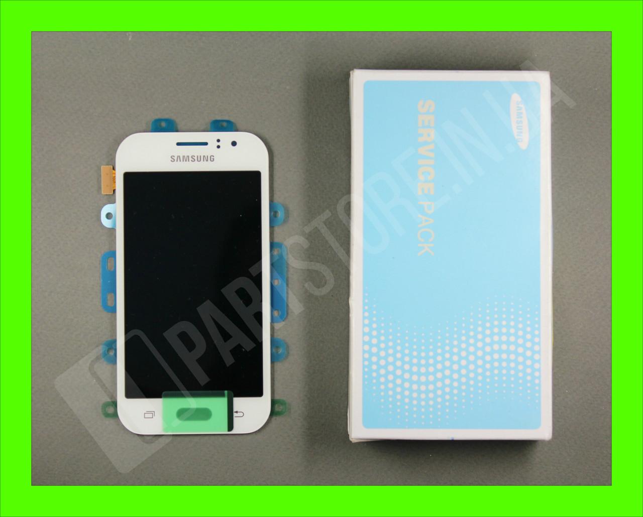 Дисплей Samsung j110 white j1 2015 (GH97-17843A) сервисный оригинал