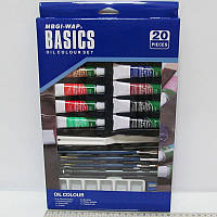 "Краски ""JO"" масляные WBDО1220 ""Basics"" 12цв*12мл"