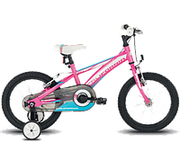 "Велосипед детский BH - California 16"" Rigida 2019 Pink/White/Blue (BH PX028.S11)"