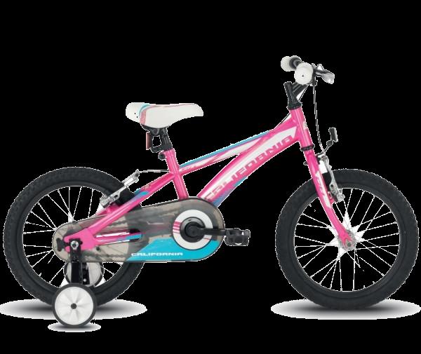 "Велосипед детский BH - California 18"" 2018 Pink/White/Blue (BH PX058.S11)"