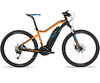 Электровелосипед BH - Rebel 27´5 Lite Black/Orange/Blue, р.M (BH EY609.J21-M)