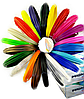 Пластиковые нити PLA для 3D ручек, Набор PLA-пластика для 3d-ручек, Стержни для 3д ручки