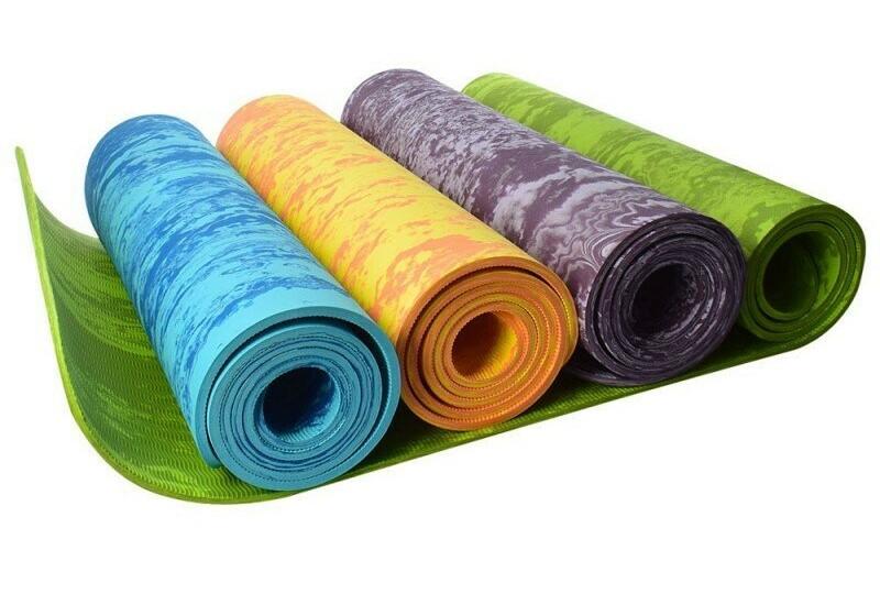 Yoga mat PER 8 мм однослойный