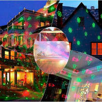 Уличный Лазерный Проектор Star Shower Laser Light Новогодние Фигуры