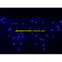 Светодиодная гирлянда ICICLE бахрома 10х0.5м, синий