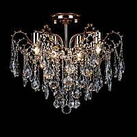 Хрустальная люстра на 8 лампочек золото СветМира VL-L78425/8/FGD