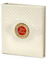 Альбом для фотографий натуральной кожи прекрасного белого цвета с магнитными листами