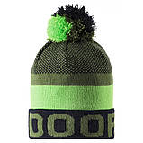 Зимняя шапка-бини для мальчика Lassie by Reima Nikko 728767-8581. Размеры 46/48, 50/52 и 54/56., фото 2