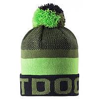 Зимняя шапка-бини для мальчика Lassie by Reima Nikko 728767-8581. Размеры 46/48, 50/52 и 54/56.