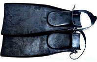 Ласти Лисичанськ для плавання, чорні, ласти для дайвінга, ласти для підводного полювання