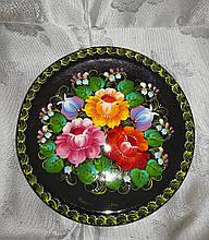 Сувенір- тарілка з росписом