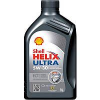 Масло моторное синтетика Shell (Шел) 5W30 Helix Ultra ECT 1л.