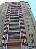 Фасадные панели на жилом комплексе