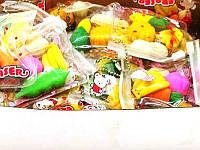 Резинки в сумочке фрукты-овощи 28-6 (30шт)