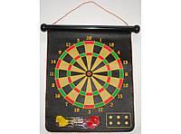 I5-41 Дарц магнит, Дартс магнитный с дротиками, Набор дартс, Тканевый магнитный дартс, Игра для компании