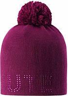 Зимняя шапка-бини для девочки Lassie by Reima Nessa 728768-4840. Размеры 46/48, 50/52 и 54/56., фото 1