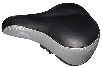 Седло велосипедное GrandStar GS-608 (403090), фото 2