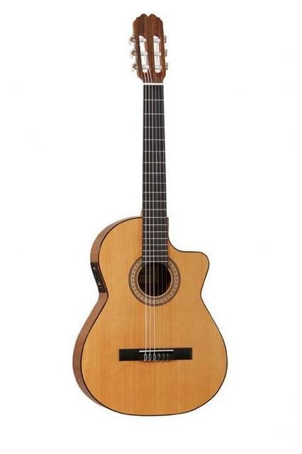Классическая гитара с вырезом, пьезозвукоснимателем и темброблоком Shadow P3B ADMIRA JUANITA EC