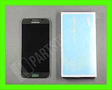 Дисплей Samsung G920 gold S6  (GH96-17260C) сервисный оригинал