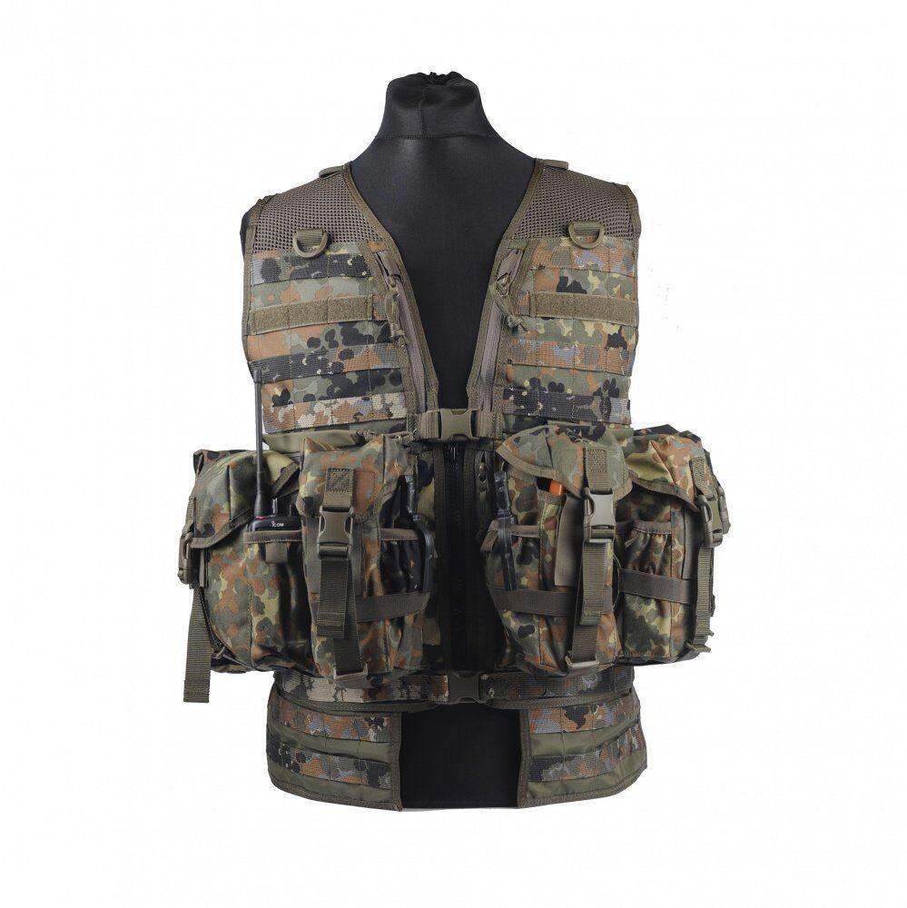 Разгрузочный жилет Tasmanian Tiger - Ammunition Vest FT Flecktarn II (TT 7923.464)