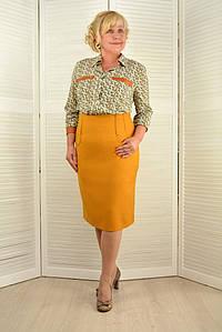 Комплект: Блузон и юбка - Модель 1677-5+542-4