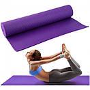 Yoga mat PVC 6 мм + чехол, фото 8
