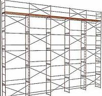 Леса строительные  500 м2 (51м х 10м)