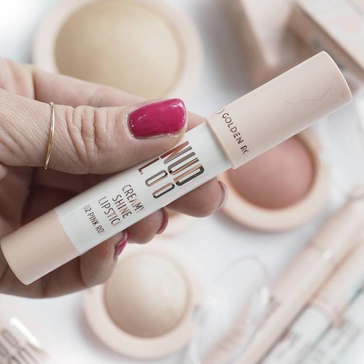 Кремовая помада-карандаш Golden Rose Nude Look Creamy Shine Lipstick