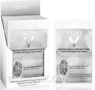 Глиняная маска для очищения пор Виши Vichy Pore Purifying Clay Mask