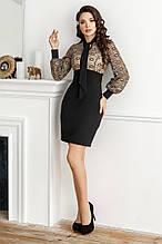 Платье, №140, чёрное, 42-46р.