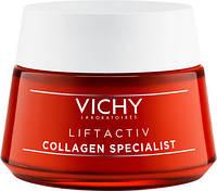 Дневной крем для стимулирования выработки коллагена кожей Виши Vichy Liftactiv Collagen Specialist