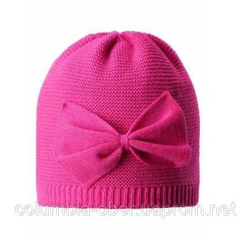 Зимняя шапка-бини для девочки Lassie by Reima Melia 728771-4680. Размеры 46/48, 50/52 и 54/56.