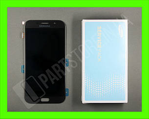 Дисплей Samsung а720 black а7 2017 (GH97-19723A) сервисный оригинал, фото 2
