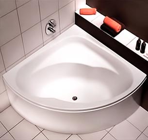 INSPIRATION ванна угловая 140*140 см, с ножками SN8, Kolo, фото 2