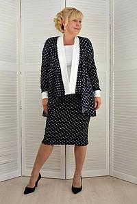Комплект тройка: Кардиган + майка + юбка  - Модель Л255-5
