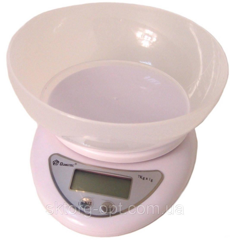 Весы кухонные Domotec ACS-126 7кг