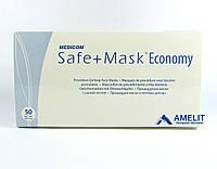 Маски Медиком (Medicom Economy), трехслойные на резинках, медицинские, 50 шт., фото 1