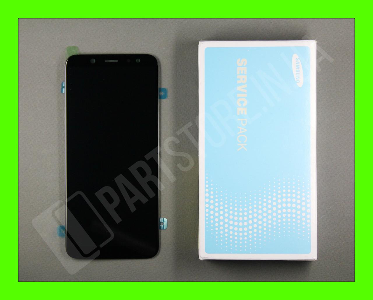 Дисплей Samsung а600 black а6 2018 (GH97-21897A) сервисный оригинал
