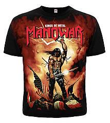 "Футболка Manowar ""Kings Of Metal"", Размер XL"
