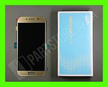 Дисплей Samsung а520 gold а5 2017 (GH97-19733B сервисный оригинал