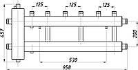 Коллектор стальной с крепл. КГС32В.125.(200) СК-322.125 (с гидрострелкой, выход вверх)
