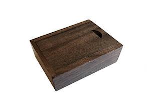 Флешка SUNROZ Wooden USB Flash Drive деревяный флеш накопитель в коробке 32 Gb USB 3.0 Коричневый (SUN0822), фото 2