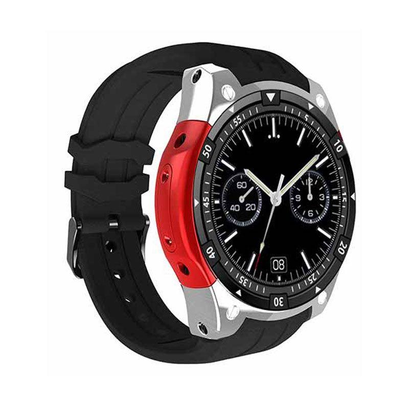 Умные часы Smart Watch X100 Silver Android Red (SW0X100SR)