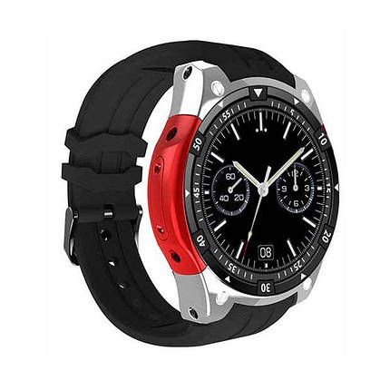 Умные часы Smart Watch X100 Silver Android Red (SW0X100SR), фото 2
