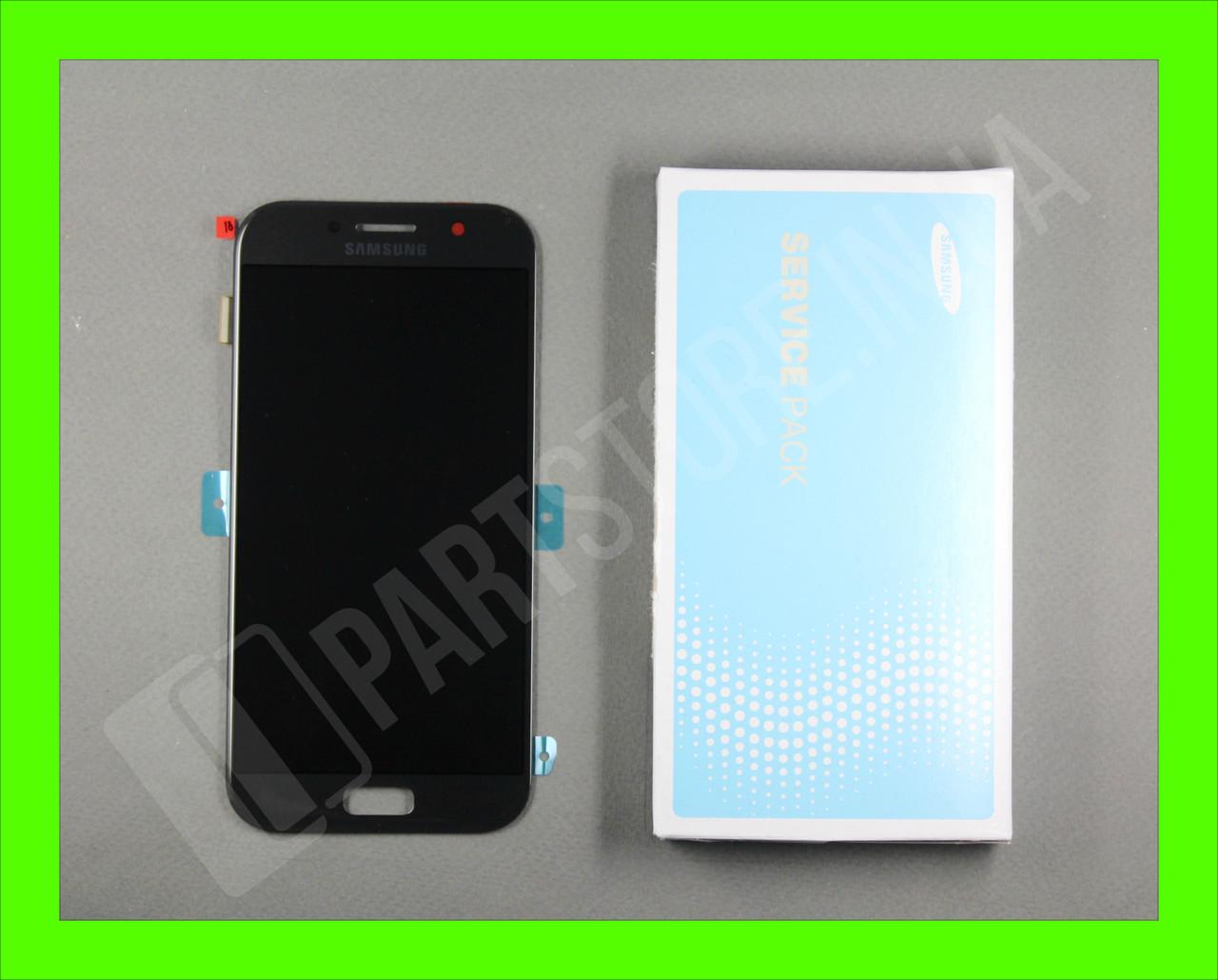 Дисплей Samsung а520 black а5 2017 (GH97-19733A) сервисный оригинал