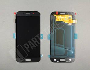 Дисплей Samsung а520 black а5 2017 (GH97-19733A) сервисный оригинал, фото 2